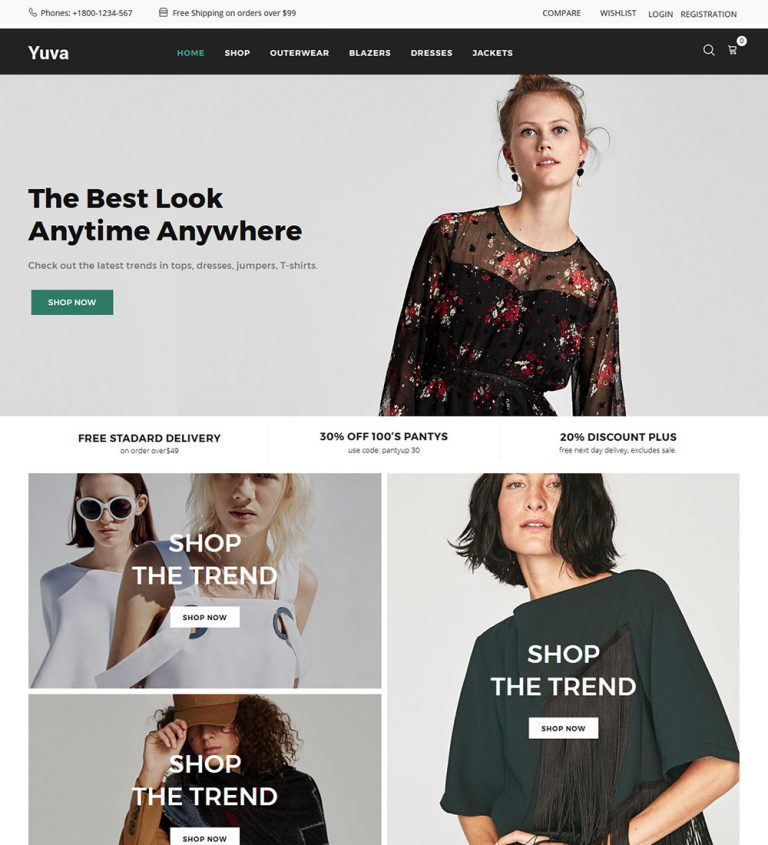 Yuva Clothes for Men and Women Online eCommerce Store Ready Made WooCommerce Website Theme