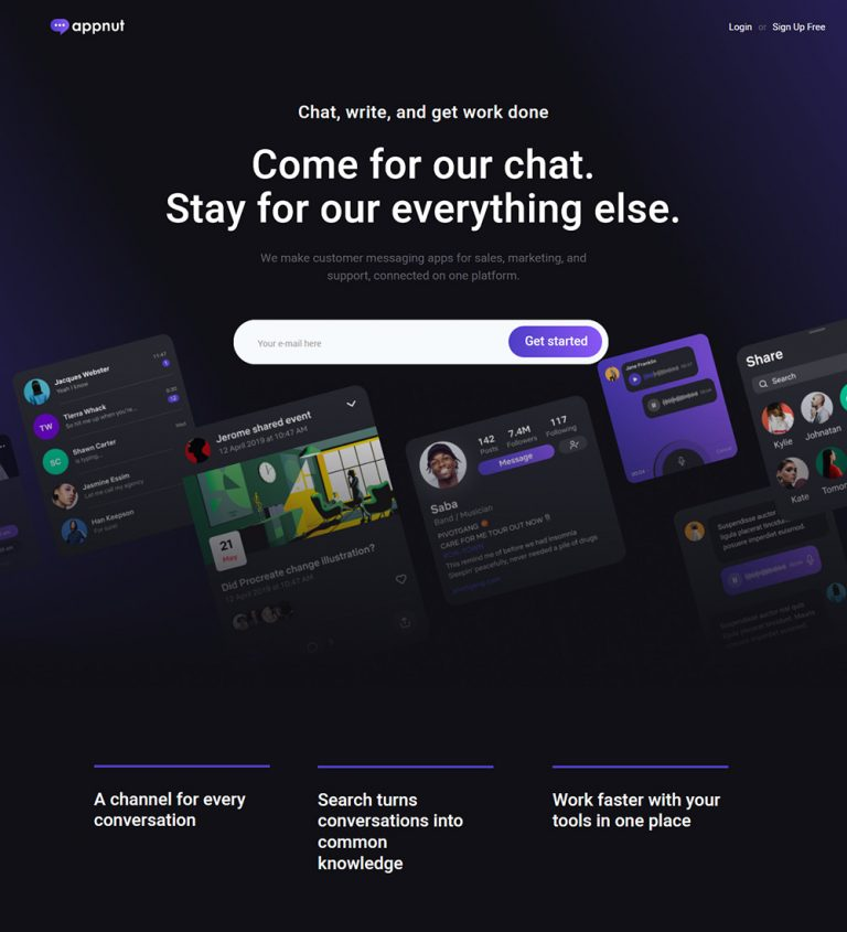 appnut Android and iOS App Landing Page Ready Made WordPress Website Theme